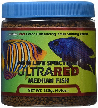 Ultra Red Medium Fish 2mm 125g