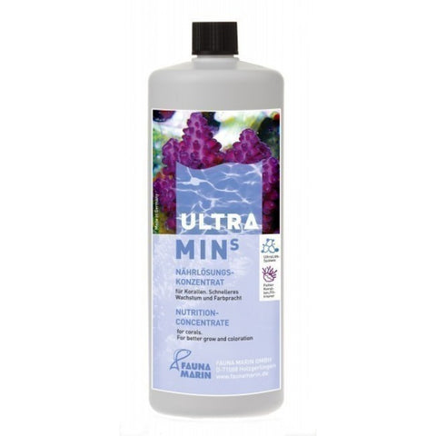 Fauna Marin - Ultra Min S 250ml - Wais Aquarium
