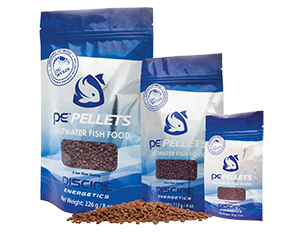 Piscine Energetics - PE Pellets 1mm 56g - Wais Aquarium