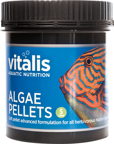 Vitalis - Algae Pellets S 1.5mm 120g - Wais Aquarium
