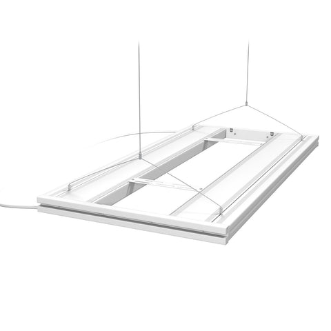 Aquatic Life - 4 Lamp T5HO LED Hybrid Fixture (White) - Wais Aquarium