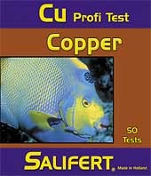 Salifert - Copper Test Kit - Wais Aquarium