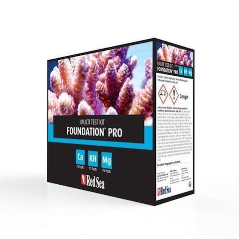 Red Sea - Foundation Pro Multi Test Kit - Wais Aquarium