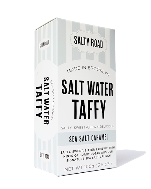 Sea Salt Caramel Taffy