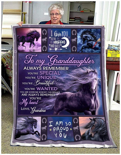 Horse - To My Granddaughter - I Am So Proud Of You - 2