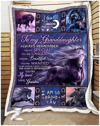 Horse - To My Granddaughter - I Am So Proud Of You - 3