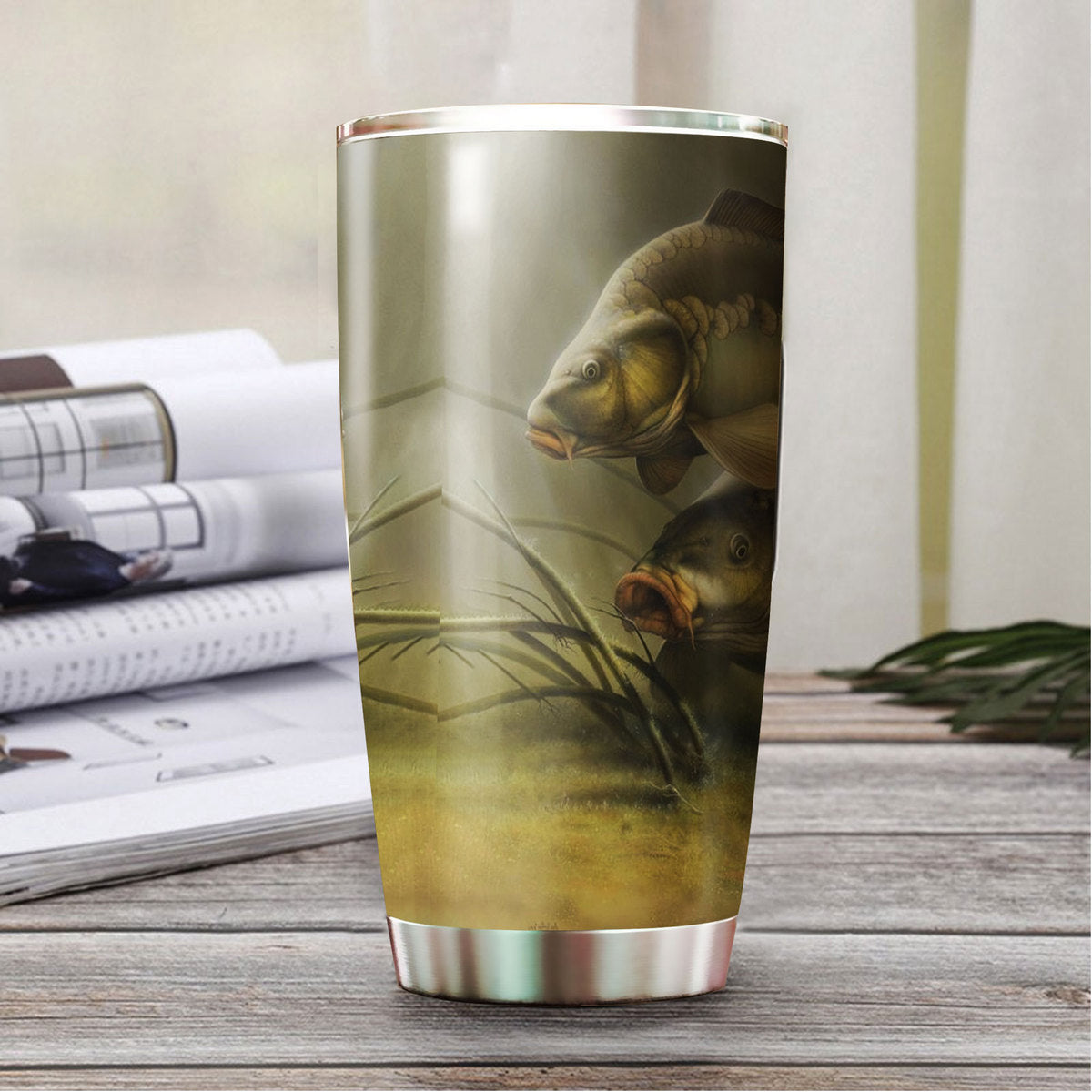 Carp Fishing Tumbler TBL090314