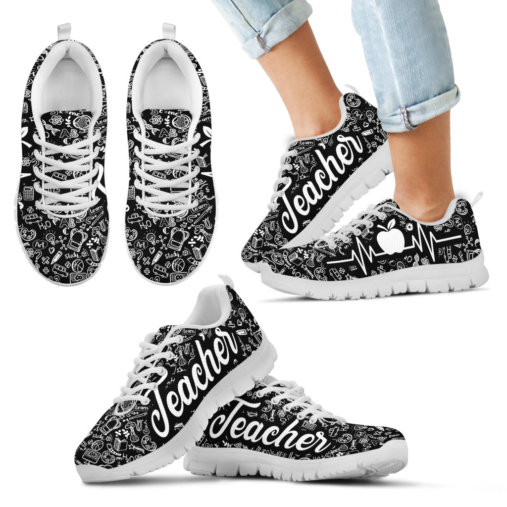 TEACHER PATTERN Kid's Sneakers