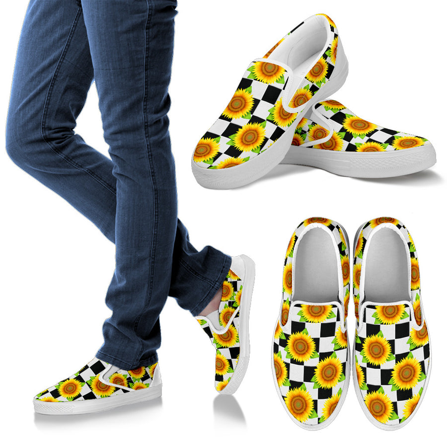 Sunflower Slip Ons