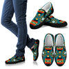 Seven Tribes Teal Men's Slip Ons