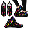 Mixed Colors Paw Prints Women's