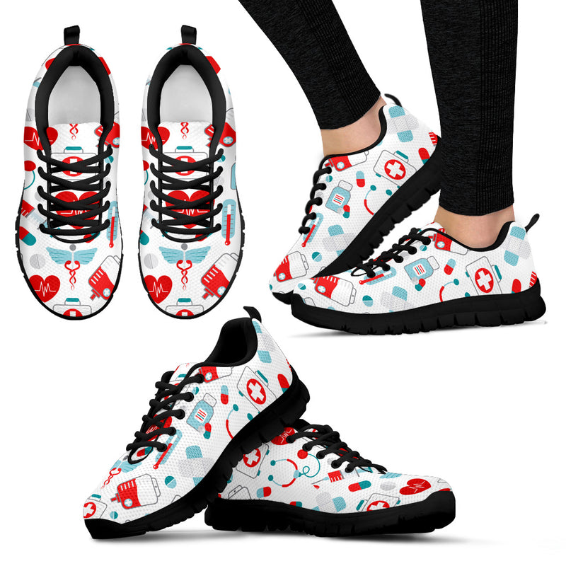 Nurse Ladies Sneakers