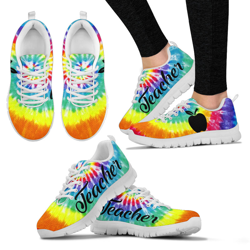 TEACHER TIE DYE Women's Sneakers