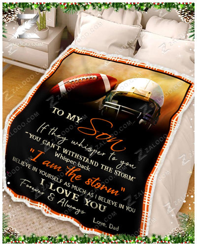 Football - To My Son - I Love YouDad - 3