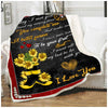 Firefighter - To my wife - Flower Boots - 2