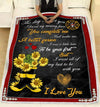 Firefighter - To my wife - Flower Boots - 1