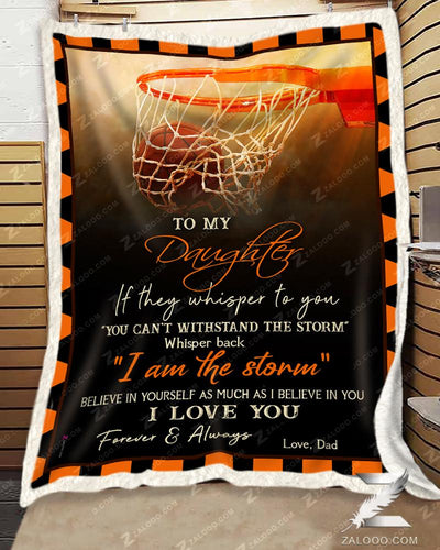 Basketball - To My Daughter - I Love YouDad - 2