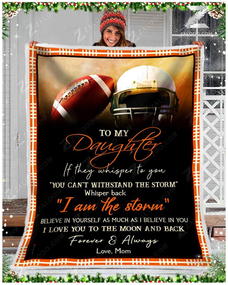 Football  - To My Daughter - I Love You - 1