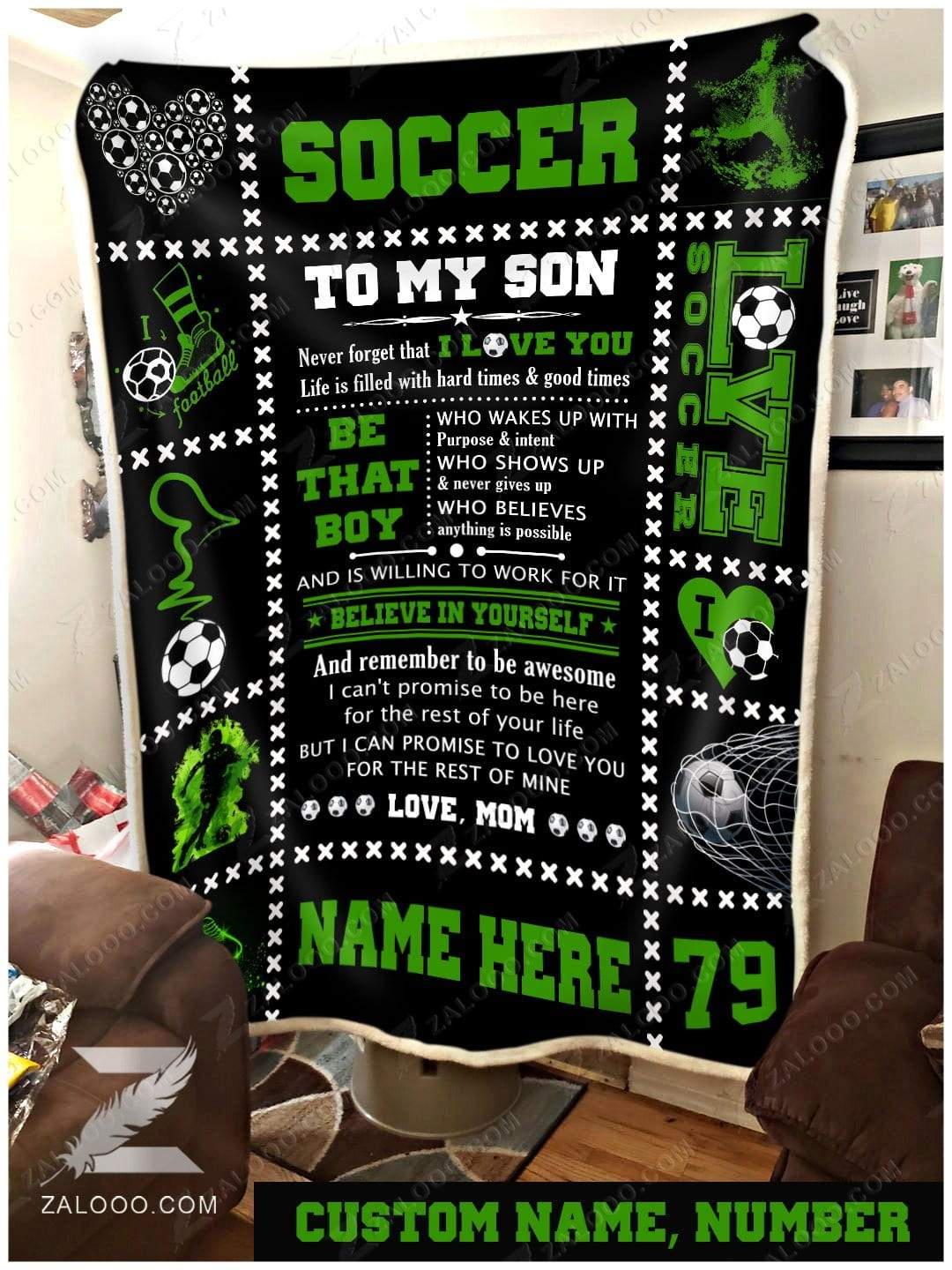 Soccer - To my son - Be that boy Mom - 1