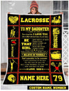 Lacrosse - To my daughter - Be that girl - 1