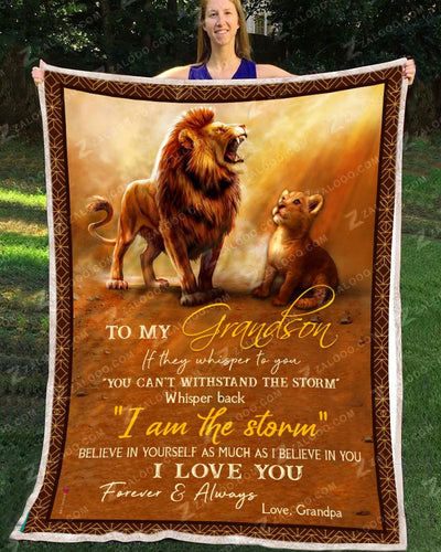 Lion - To My Grandson - I Love You - 1