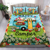 Camping - Happy Campers Bedding Set Quilt Blanket EP321