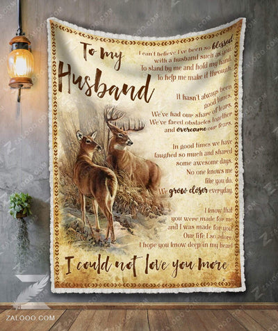Deer To My Husband - I Could Not Love You More - 3