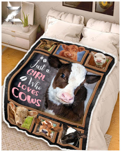 Cow - Just A Girl Who Loves Cows - 2