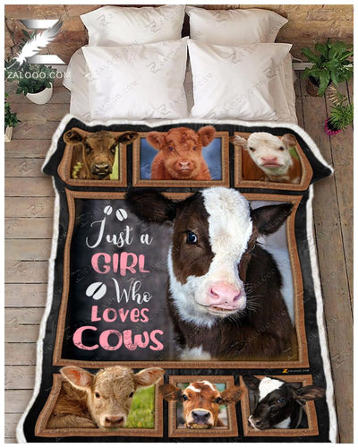 Cow - Just A Girl Who Loves Cows - 1