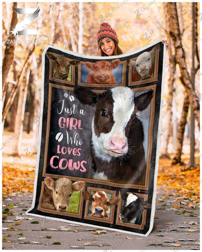 Cow - Just A Girl Who Loves Cows - 3