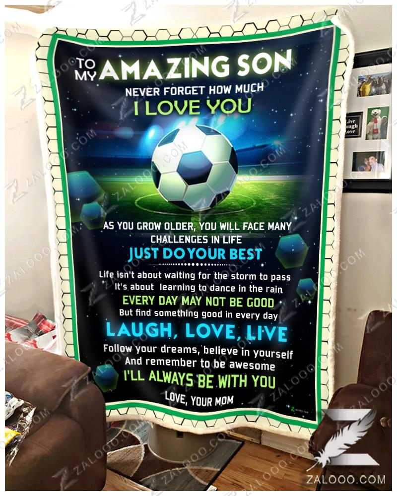 Soccer To My Amazing Son - Follow Your Dream - 1