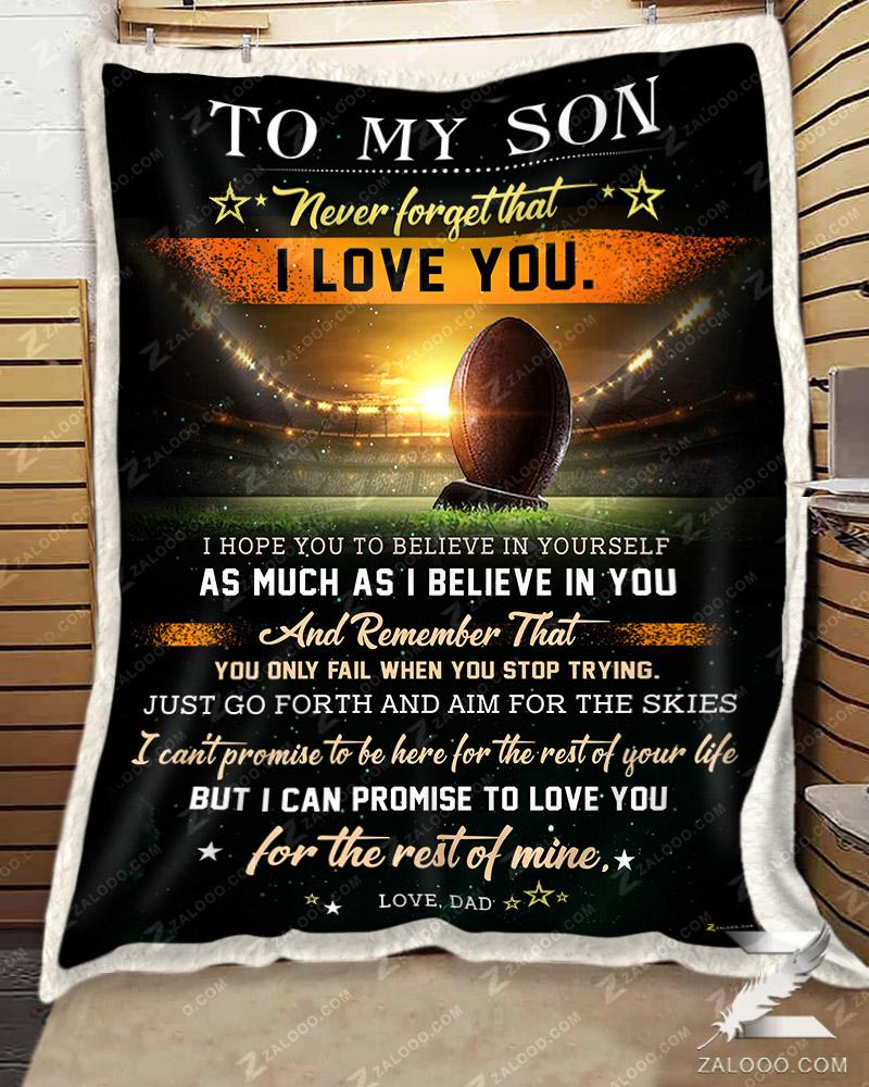 Football To My Son - I Believe In You Dad - 1