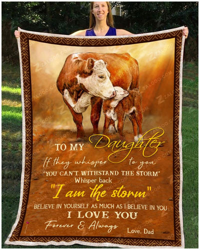 Cow - To My Daughter - I Love You - 3