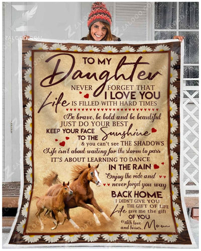 Horse - To my daughter - Your way back home - 2