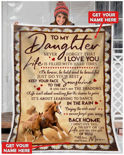 Horse - To my daughter - Your way back home - 1