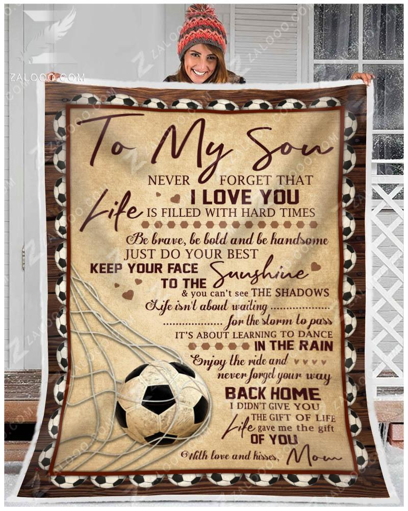 Custom Soccer - To my son - Your way back home - 1