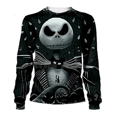 Nightmare Before Christmas Jack Skellington All Over Print