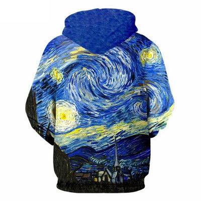 Art Van Printed 3D All Over Hoodie