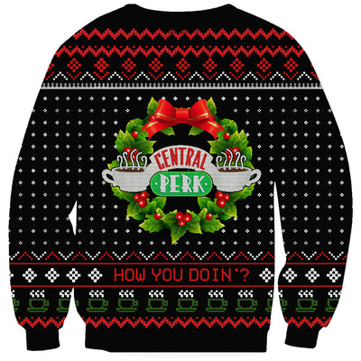 Friend TV Ugly Christmas Sweatshirt Hoodie All Over Printed PF166