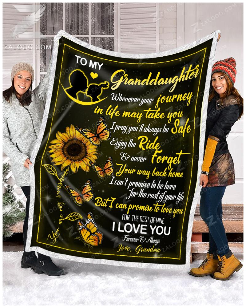 To my granddaughter - Butterfly Grandma - 1