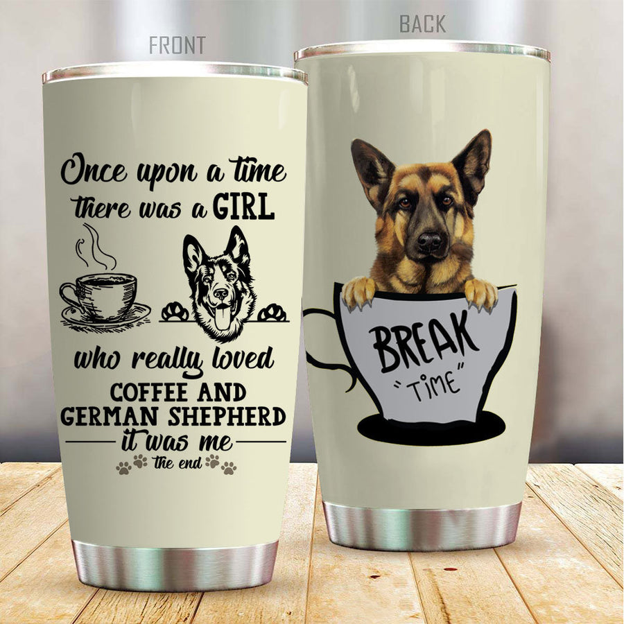 German Shepherd Coffee Tumbler 170332 - 1