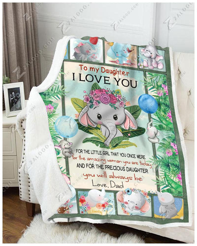 Elephant - To My Daughter - You Will Always Be - Love Dad - 4