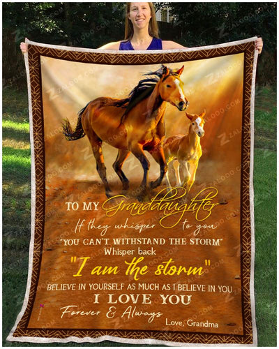 Horse - To My Granddaughter - Love Grandma - 1
