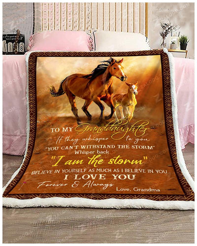 Horse - To My Granddaughter - Love Grandma - 3