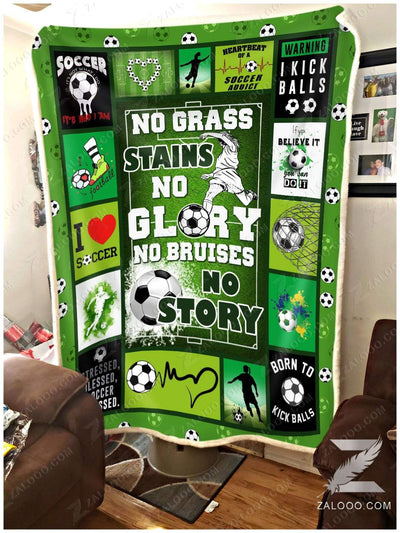 Soccer - No grass stains no glory - 1