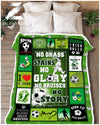 Soccer - No grass stains no glory - 3