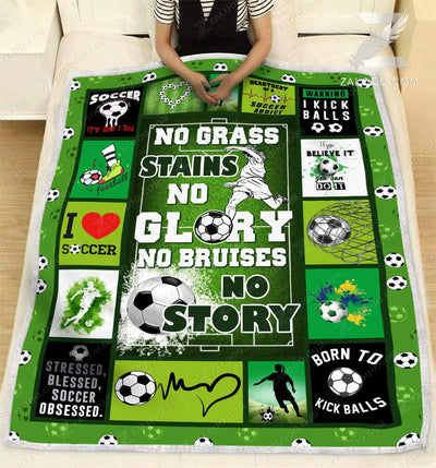 Soccer - No grass stains no glory - 5