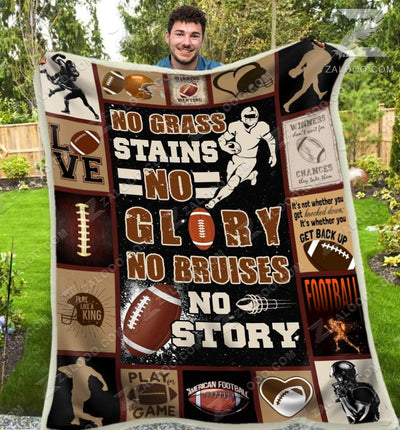 Football - No grass stains no glory - 1