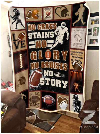 Football - No grass stains no glory - 5
