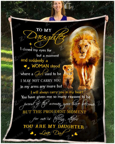 Lion - To My Daughter - You Are My Daughter - Love Dad - 3